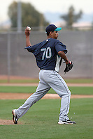 Edward Paredes. Seattle Mariners spring training workouts at the Mariners spring training facilities in Peoria, AZ - 02/27/2010.Photo by:  Bill Mitchell/Four Seam Images.