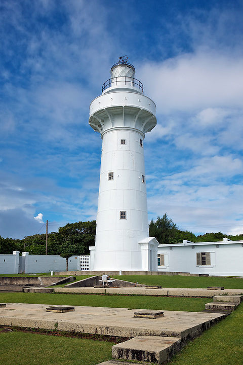 The South Cape (Cape Eluanbi) Lighthouse And Fortified Complex.  Kenting, Taiwan.