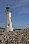 The Scituate Lighthouse, Cedar Point, Scituate, MA, U.S.