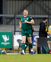 4th June 2021; Galway Sportsgrounds, Galway, Connacht, Ireland; Rainbow Cup Rugby, Connacht versus Ospreys; Shane Delahunt leads out the team on his 100th cap for Connacht