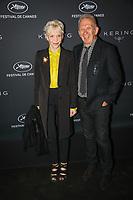 Tonie Marshall et Jean-Paul Gaultier en photocall avant la soiréee Kering Women In Motion Awards lors du soixante-dixième (70ème) Festival du Film à Cannes, Place de la Castre, Cannes, Sud de la France, dimanche 21 mai 2017. Philippe FARJON / VISUAL Press Agency