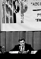 January 22, 1994 File Photo - Marcel Cote, Secor speak at a pre (Federal) budget forum organized by the IRPP.<br /> <br /> Cote ran for Montreal Mayor in the November 3rd, 2013 municipal electiond and was defeated by Denis Coderre.<br /> Former President of SECOR (consulting firm) Cote ran for Montreal Mayor and was defeated by Denis Coderre in the November 3, 2013 municipal elections.<br /> Marcel Cote just passes away today May 25, 2014 of cardiac arrest while taking part in a fundraiser race.<br /> <br /> File Photo : Agence Quebec Presse