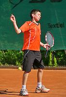 August 4, 2014, Netherlands, Dordrecht, TC Dash 35, Tennis, National Junior Championships, NJK,  Lars Gillissen (NED)<br /> Photo: Tennisimages/Henk Koster