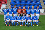 St Johnstone FC Academy U15's<br /> Back row from left, Gavin Brown, Ben Quigley, Nathan Brown, Jamie McPherson, Kyle Ainslie, Blane Duncan, Euan O'Reilly and Sean Struthers.<br /> Front row from left, David Brown, Cameron Thomson, Morgan Miller, Max McIntyre, Patrick Brown and Ben Ragan.<br /> Picture by Graeme Hart.<br /> Copyright Perthshire Picture Agency<br /> Tel: 01738 623350  Mobile: 07990 594431