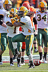 North Dakota State Bison cornerback Andre' Martin Jr. (8) in action during the FCS Championship game between the North Dakota State Bison and the Sam Houston State Bearkats at the FC Dallas Stadium in Frisco, Texas. North Dakota defeats Sam Houston 39 to 13..