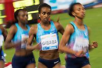 Genzebe Dibaba Ehiopia <br /> 5000m Women <br /> Roma 08-06-2017 Stadio Olimpico <br /> Iaaf Diamond League Golden Gala <br /> Meeting Atletica Leggera - Track and Fields <br /> Foto Andrea Staccioli / Insidefoto