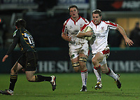 Friday 7th December 2012;  Darren Cave in action for Ulster during the Pool 4 round 3 Heineken Cup clash at Franklin's Gardens, Northampton, England. Image credit -: JOHN DICKSON / DICKSONDIGITAL