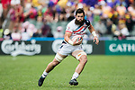 Danny Barrett of USA in action during their Pool D match between USA and Argentina as part of the HSBC Hong Kong Rugby Sevens 2018 on 07 April 2018, in Hong Kong, Hong Kong. Photo by Yu Chun Christopher Wong / Power Sport Images