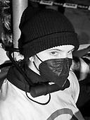 Warsaw 30.03.2021 Poland<br /> At midday in Warsaw, activist declared civil disobedience under the slogan pisOFF, as part of which they chained themselves to government buildings, police headquarters and the Ordo Luris headquarters in Warsaw<br /> © Photo: Adam Lach<br /> <br /> Aktywisci zakuli sie do znaku przed siedziba Ordo Luris. W godzinach popoludniowych w Warszawie protestujacy wypowiedzieli posłuszenstwo obywatelskie pod hasłem pisOFF, w ramach czego przykuli sie do budynkowrzadowych, komendy glownej policji i siedziby Ordo Luris w Warszawie.<br /> © Photo: Adam Lach