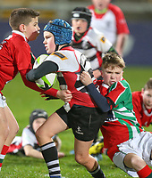 Friday 14th December 2018 | Ulster Rugby vs Scarlets<br /> <br /> Halftime mini-rugby during the Round 4 Heineken Cup clash against Scarlets at Kingspan Stadium, Ravenhill Park, Belfast, Northern Ireland. Photo by John Dickson / DICKSONDIGITAL