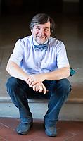 Luca Mercalli (Torino, 24 febbraio 1966) è un meteorologo, climatologo, divulgatore scientifico e accademico italiano, noto al pubblico televisivo italiano per la partecipazione alla popolare trasmissione Che tempo che fa. Mantova ,12  settembre 2021. Photo by Leonardo Cendamo/Getty Images