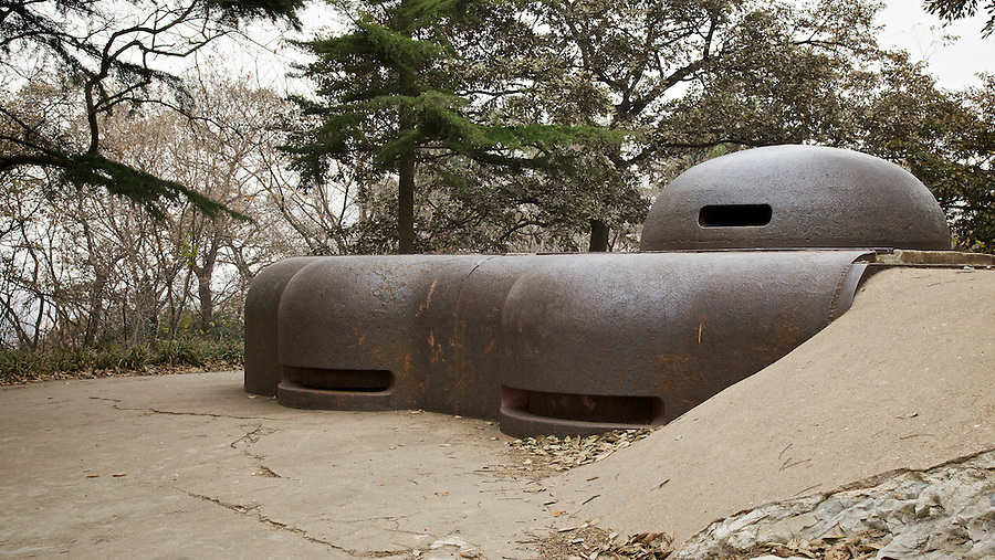 German Command Bunker & Observation Post From 1899.  Qingdao (Tsingtao).