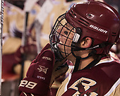 David Cotton (BC - 17) - The Boston College Eagles defeated the Providence College Friars 3-1 (EN) on Sunday, January 8, 2017, at Fenway Park in Boston, Massachusetts.The Boston College Eagles defeated the Providence College Friars 3-1 (EN) on Sunday, January 8, 2017, at Fenway Park.