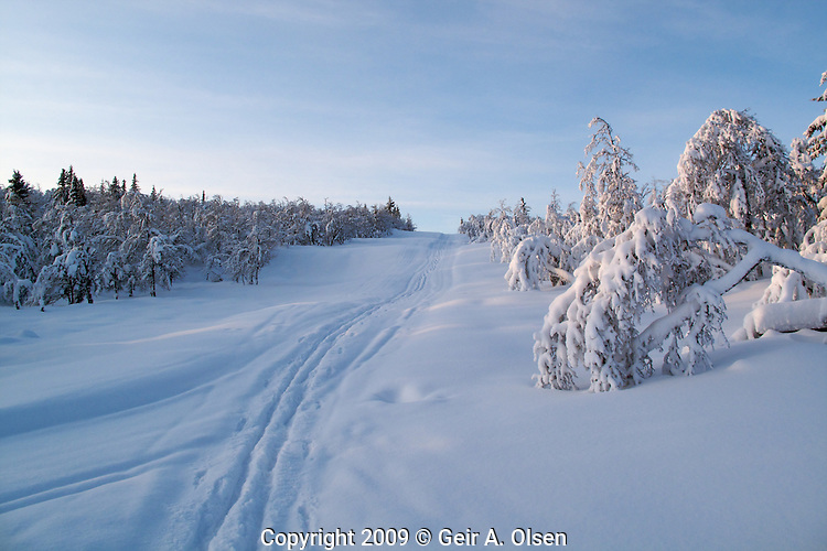 Winter in Norway, desember 2009