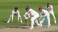 Rikki Clarke of Surrey in batting action during Surrey CCC vs Somerset CCC, LV Insurance County Championship Group 2 Cricket at the Kia Oval on 13th July 2021