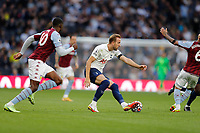 3rd October 2021; Tottenham Hotspur Stadium. Tottenham, London, England; Premier League football, Tottenham versus Aston Villa: Harry Kane of Tottenham Hotspur on the ball