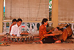 YOUNG CAMBODIAN MUSICIANS PLAY FOR TOURISTS