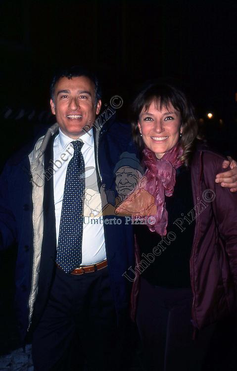 PIERO MARRAZZO E ROBERTA SEDORF<br /> TAVERNA FLAVIA ROMA 2002