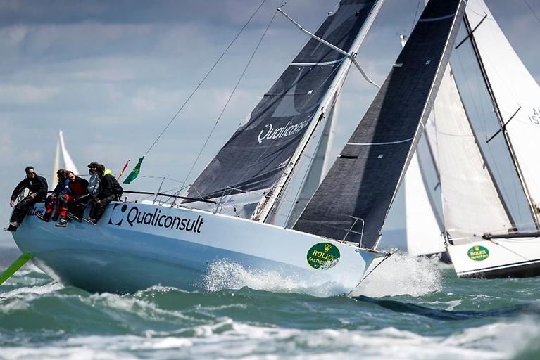 Jacques Pelletier's L'Ange De Milon is back to defend her IRC One title © Paul Wyeth/pwpictures.com