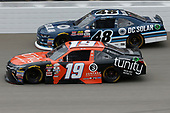 NASCAR XFINITY Series<br /> Irish Hills 250<br /> Michigan International Speedway, Brooklyn, MI USA<br /> Saturday 17 June 2017<br /> Matt Tifft, Tunity Toyota Camry Brennan Poole, DC Solar Chevrolet Camaro<br /> World Copyright: Matthew T. Thacker<br /> LAT Images