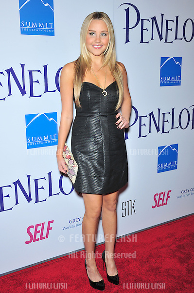 """Amanda Bynes at the Los Angeles premiere of """"Penelope"""" at the Directors Guild Theatre, West Hollywood..February 20, 2008  Los Angeles, CA.Picture: Paul Smith / Featureflash"""