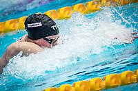 Lily King of USA in act at women's 100m breastroke final during 18th Fina World Championships Gwangju 2019 at Nambu University Municipal Aquatics Centre, Gwangju, on 23  July 2019, Korea.  Photo by : Ike Li / Prezz Images