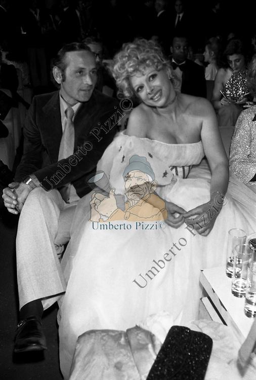 SANDRA MILO TEATRO SISTINA ROMA 1972