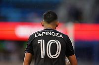 SAN JOSE, CA - MARCH 7: Cristian Espinoza #10 of the San Jose Earthquakes during a game between Minnesota United FC and San Jose Earthquakes at Earthquakes Stadium on March 7, 2020 in San Jose, California.