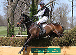 April 26, 2014: Bay My Hero and William Fox-Pitt take first place after competing in Cross Country at the Rolex Three Day Event in Lexington, KY at the Kentucky Horse Park.  Candice Chavez/ESW/CSM