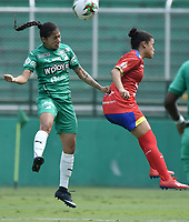 PALMIRA - COLOMBIA, 07-11-2020: Deportivo Cali y Deportivo Pasto en partido por la fecha 4 de la Liga Femenina BetPlay DIMAYOR 2020 jugado en el estadio Deportivo Cali de la ciudad de Palmira. / Deportivo Cali and Deportivo Pasto in match for the date 4 as part of Women's BetPlay DIMAYOR League 2020 played at Deportivo Cali stadium in Palmira city. Photo: VizzorImage / Gabriel Aponte / Staff