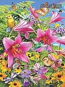 Lori, FLOWERS, BLUMEN, FLORES, paintings+++++The Pollinators_8_10in_72_1_13_21,USLS312,#f#, EVERYDAY ,puzzle,puzzles
