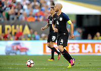 Philadelphia, PA - June 11, 2016: USA midfielder Michael Bradley (10) during a Copa America Centenario Group A match between United States (USA) and Paraguay (PAR) at Lincoln Financial Field.