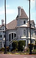 San Diego: Britt House in 2000.  Queen Anne Victorian, 1889. 405 Maple. Photo 2000.