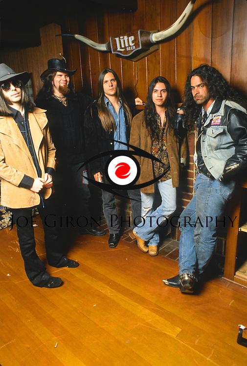 Various portrait sessions of the rock band, Four Horsemen