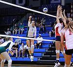 Tulane vs. South Alabama (Volleyball 2011)