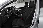 Front seat view of a 2017 Mercedes Benz C Class C350e 4 Door Sedan front seat car photos