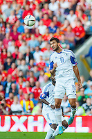 Ofir Marciano of Isreal  in action during their UEFA EURO 2016 Group B qualifying round match held at Cardiff City Stadium, Cardiff, Wales, 06 September 2015. EPA/DIMITRIS LEGAKIS