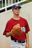 Phillip Pfeifer of Farragut High School in Knoxville, Tennessee at the Tournament of Stars event run by USA Baseball at the USA Baseball National Training Complex in Cary, NC on June 23, 2009.  Photo by Robert Gurganus/Four Seam Images