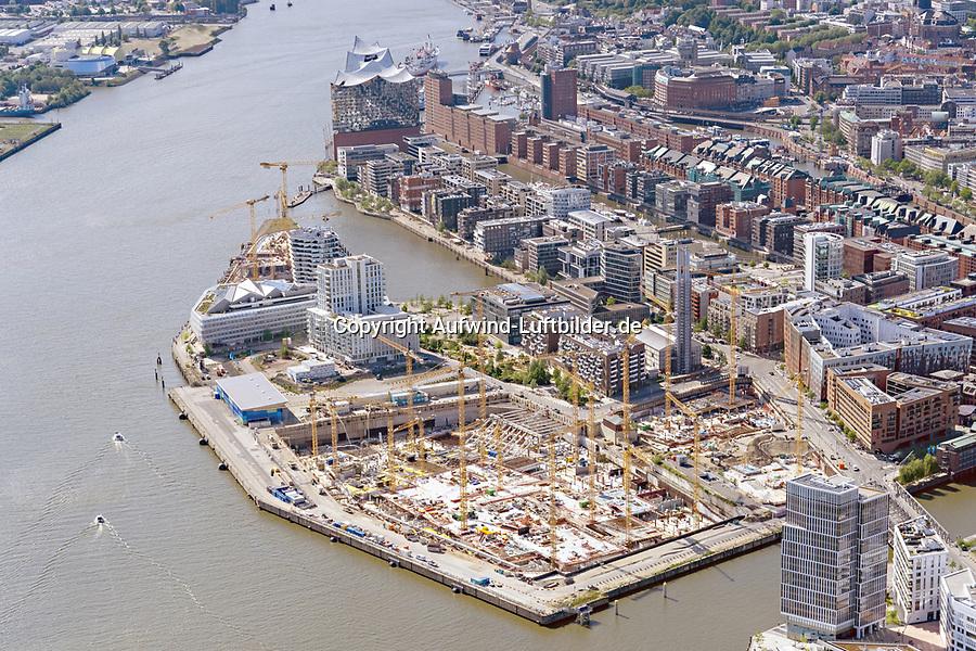 Hafencity Grossbaustelle: EUROPA, DEUTSCHLAND, HAMBURG, (EUROPE, GERMANY), 19.05.2020: Hafencity Grossbaustelle