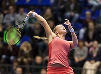 Rotterdam, Netherlands, December 20, 2015,  Topsport Centrum, Lotto NK Tennis, Final womans single Kiki Bertens (NED)<br /> Photo: Tennisimages/Henk Koster