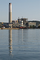 - thermoelectrical  power plant....- centrale termoelettrica