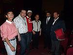 Miembros de la orquesta Nacional del Cairo en el teatro Haagendazs.