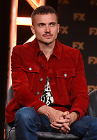 "PASADENA, CA - JANUARY 9: Cast member Karl Glusman attends the panel for ""Devs"" during the FX Networks presentation at the 2020 TCA Winter Press Tour at the Langham Huntington on January 9, 2020 in Pasadena, California. (Photo by Frank Micelotta/FX Networks/PictureGroup)"