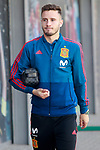 Spain's Saul Niguez after training session. November 8,2017.(ALTERPHOTOS/Acero)