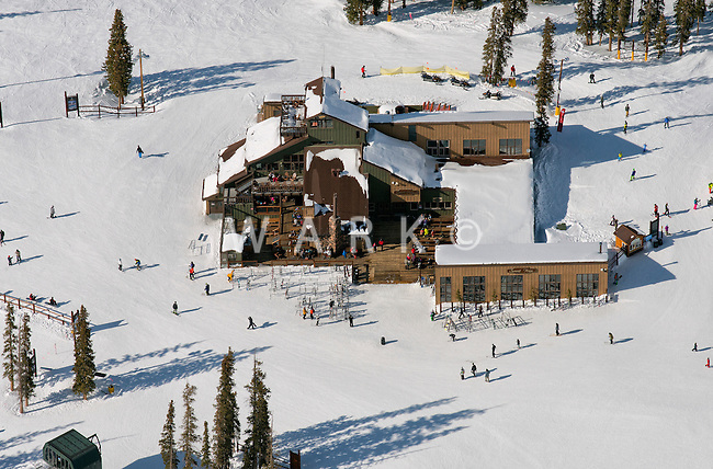 Keystone Ski Area, Summit House. Dercum Mountain. March 2014