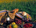 Picknick in einer Blumenwiese | picnic in a flower meadow