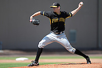 Pittsburgh Pirates pitcher Josh Smith (98) during a minor league spring training game against the Philadelphia Phillies on March 18, 2014 at the Carpenter Complex in Clearwater, Florida.  (Mike Janes/Four Seam Images)