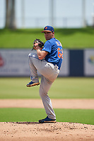 GCL Mets starting pitcher Matthew Allan (68) during a Gulf Coast League game against the GCL Nationals on August 12, 2019 at FITTEAM Ballpark of the Palm Beaches in Palm Beach, Florida.  GCL Nationals defeated the GCL Mets 7-3.  (Mike Janes/Four Seam Images)