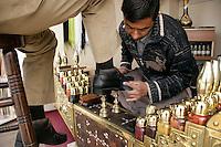Shoeshine, Istanbul, Turkey