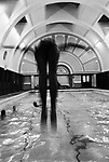 Swimmers and divers, student swimming Club, 1967 London. Swimmers and divers student swimming club. London 1967,